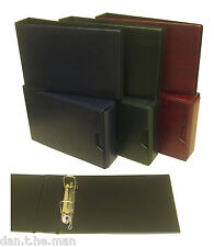 """GLEN"" 2 RING COLLECTORS BINDER / ALBUM - OPTIONAL SLIPCASE - VARIOUS COLOURS"
