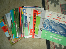 FA CUP FINAL PROGRAMMES - CHOOSE FROM LIST - 1950 - 1984