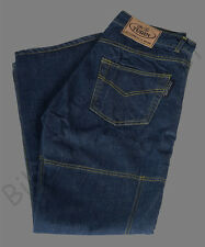 New Navy Blue Denim Dupont Kevlar Motorcyle Motorbike CE Armoured Jeans Trousers
