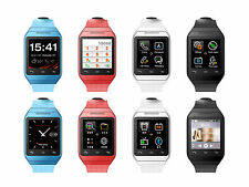 Unlocked S19 Quad-band Android Smart Watch Mobile Phone Touch Screen MMS SMS