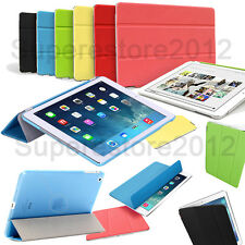 2in1 Magnetic Smart Cover + Clear Back Case Skin For iPad Air 5 4/3/2 Mini 1/2