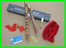 Traditional Chinese Bamboo Flute/dizi in A/B/C/D/E/F/G Key+Flute Case Box+Dimo