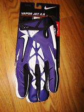 NWT MENS NIKE VAPOR JET 2.0 MAGNI GRIP SKILL PLAYER GLOVES MANY SIZES AND COLORS