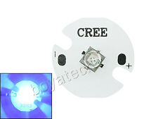 5W Cree XT-E XTE Royal Blue 450-452nm Led Chip Light 3.0-3.3V 1A 20MM / 16MM