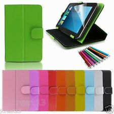 "Magic Leather Case Cover+Gift For 7"" Alcatel Pop7 7S /Pixi 7 Android Tablet TY2"