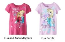 NEW Girls Disney Frozen T-Shirt Elsa Anna Olaf 2T 3T 4T 5T Toddler You Choose