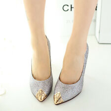 K US Womens High Heels Fashion Cheap Wedding Shoes Pointy Scrub Pumps Stiletto
