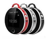 Portable Hygeia Speaker Bluetooth Health Smart Heart Rate Tester For Android