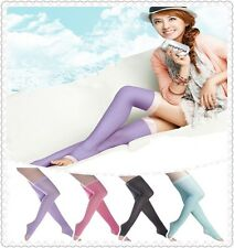 WOMEN COMPRESSION STOCKINGS Varicose Veins Support Sock Black Purple Pink Blue