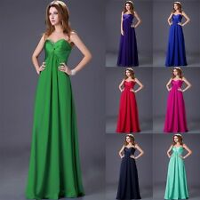 Charms Luxury Long Prom Evening Formal Bridal Bridesmaid Homecoming Party Dress