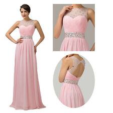 Gorgeous Evening Gowns Bridesmaid Homecoming Prom Dress Wedding Long Dress 2~16
