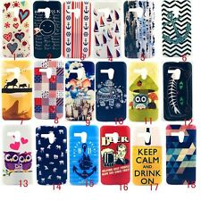 For Motorola Moto G XT1028 Hard Back Case Skin King Lion OWL Cat Calm