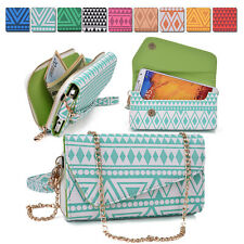 Ladies Smart-Phone Phablet Convertible Clutch Wrist-let Shoulder Purse Bag XL9