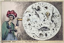 "W. Heath : ""Monster Soup Commonly Called Thames Water"" (c1828) — Fine Art Print"