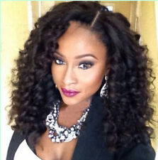 100% indian remy human hair Curly wavy fashion full lace wigs /lace front wigs