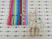 Sophie The Giraffe Harness Toy Saver Strap Leash, Dots And Stars