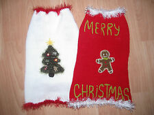Christmas dog jumper / sweater christmas dog clothes puppy pet jumper sweater