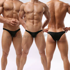 Sexy Men Soft Mini Briefs Underwear Comfy Bulge Pouch Bikini Thong 6 Colors M~XL