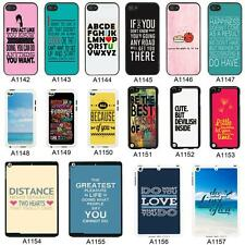 SAYINGS QUOTES COVER CASE FOR APPLE IPHONE IPOD AND IPAD - A3