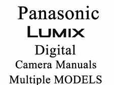 Panasonic Lumix User Guide Instruction Manual (group 2)