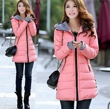 Women new hooded cotton jacket and long sections Slim Down coat cotton coat