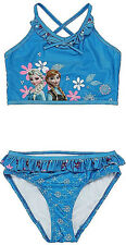 IN STOCK TX Disney Princess ELsa & Anna Frozen Swimwear Swim Suit Sz 2 3 4 5 6 7