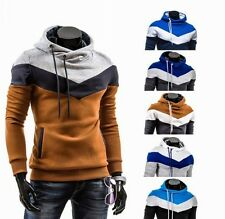 New Mens Slim Fit Stylish Casual Pocket Hoodies Coats Jackets Tops Sweatshirt