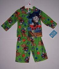 THOMAS & FRIENDS INFANT BOYS 2 PIECE FLANNEL PAJAMAS PJS SET SIZE 12 MONTHS NWT!