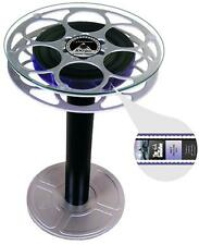 """End Table Paramount Pictures 15"""" 35mm Aluminum Film Reel Home Theater Media Room"""