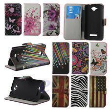 Lovely Wallet Flip Leather Hard Case Cover For Alcatel One Touch Pop C7 OT 7040D