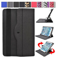"Universal AR2 360 Rotating Folding Folio Stand Cover fit 10.1"" Tablet E-Reader"