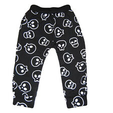 Boy Skull Graphic Pants Toddler Boy Cute Pants 3-5 years