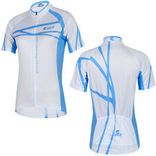 New Cheji Summer Blue Short-sleeved Jersey Female Models Summer Cycling Clothes