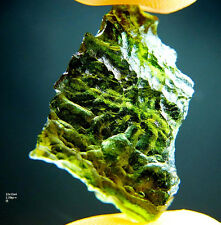 Natural Moldavite (with certificate)