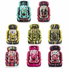 Cosatto Zoomi Group 1/2/3 Baby / Childs Car Seat ECE 9 Months - 12 Years