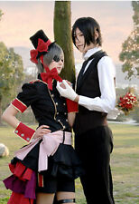 Black Butler Kuroshitsuji ciel phantomhive Strawberry Cosplay Costume Fancy