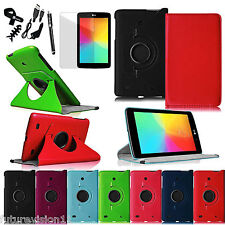 Leather Case Cover For LG G PAD 7.0 7 Inch V400 Android Tablet Screen Protector
