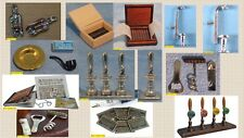 dolls house miniature 1:12 scale essential vintage pub items 13 to choose from.