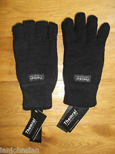 MENS THERMAL GLOVES THINSULATE THERMAL GLOVE CHUNKY WARM WINTER WORK GLOVES