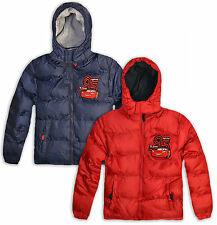 Boys Disney Cars Winter Coat Kids Mcqueen Pixar Jacket New Age 3 4 6 8 Years