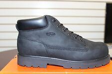 Men's LUGZ Slip Resistant Drifter Black/Black Work/Casual Boot MDRIN-0055