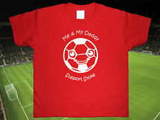 STOKE CITY Football Baby/Kids/Childrens T-shirt Top Personalised-Any colour/team