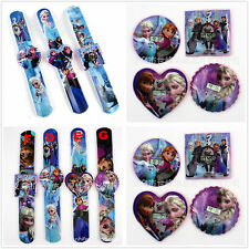 FROZEN Elsa Anna Children Clap Watches Slap on Snap On Digital Watch Kids Gift
