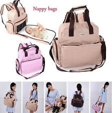 New Fashion Baby Diaper Nappy Bag Backpack Women handbags Mommy bags Change Pad