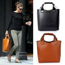 Faux Leather Retro Shoulder Bag Tote Briefcase Womens Sling Bag Briefcase Laptop