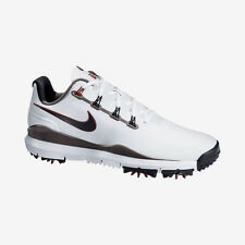 NIKE TIGER WOODS TW '14 MEDIUM GOLF SHOE - WHITE/SILVER - NEW CHOOSE SIZE!!