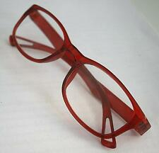 MT16 Retro Red Reading Glasses+Free Case 30p Postage for Extra Pairs+1.5+2.0+3.0