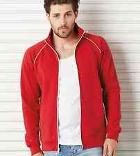 C3710 Bella+Canvas Mens Piped Fleece Jacket 100% Ringsprung Cotton 3710 New!!