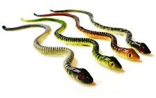 BOGS NEW SERPENTS SNAKE LURE BASS PIKE WALLEYE BAIT 2 SIZES ALL NEW REALISTIC