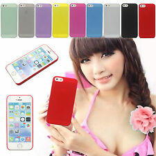 New 0.3mm Ultra Thin Back Matte Hard Back Cover Case Skin For Apple iPhone 5 5S